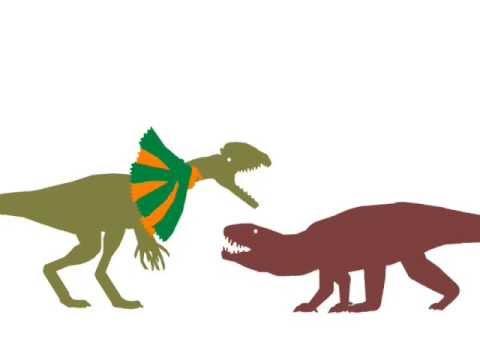 ASDC - Dilophosaurus vs Postosuchus