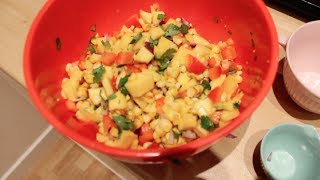 Mango And Corn Salsa!!!