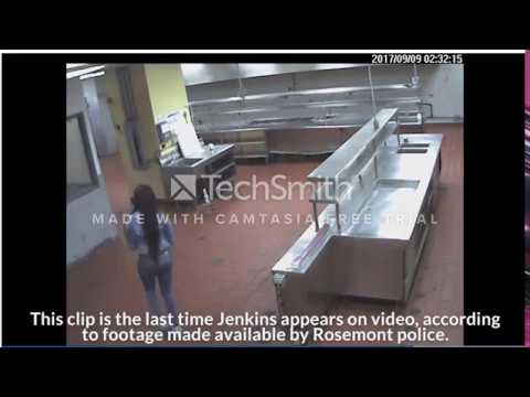 Kenekka Jenkins staggering through halls, walks into hotel kitchen ALONE!!! (MUST SEE)