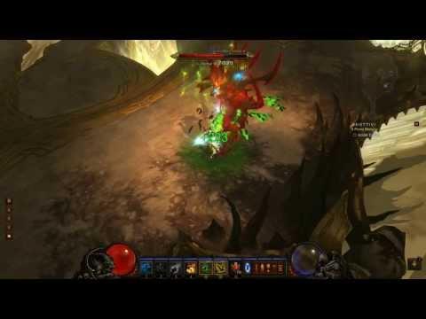 Diablo III - Witch Doctor Up Paragon Level 100 Vs Diablo MP10 (HD & HQ)