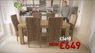 Oak Furniture Land Spring Sale | The Solid Wood Furniture Tv Ad