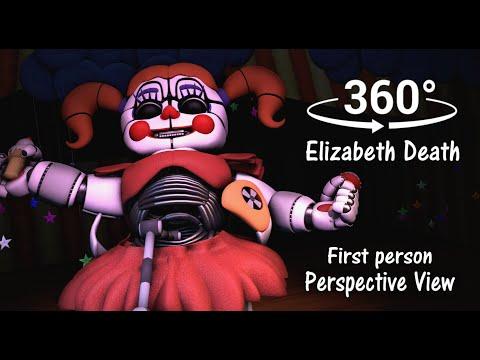 360° Elizabeth Murdered Scene First Person Prospect  FNAF Sister Location SFM VR Compatible