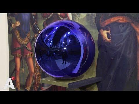 Gazing Ball van Jeff Koons 'stimuleert zintuigen' in De Nieuwe Kerk