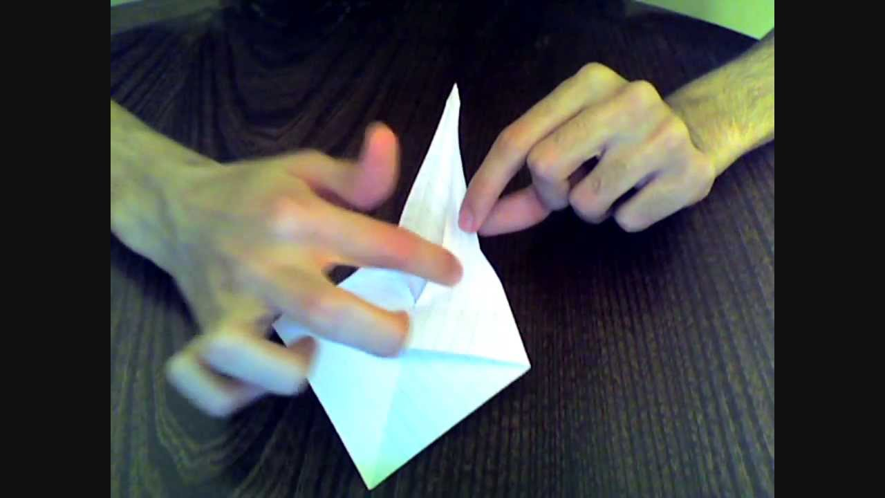 How to make the real Prison Break's Swan Origami?! - YouTube