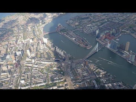 Rotterdam vanuit de lucht (Rotterdam from the air)