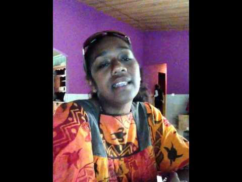 "Cover ""Hasta manana"" by Rosina HMAE, From New-Caledonia"