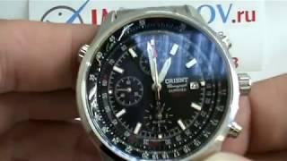 Обзор мужских часов Orient TD09001B с будильником от IMchasov.Ru