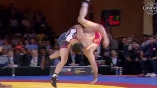 Kyle Dake beats Tahmasebi in Rumble - Universal Sports