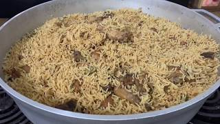 Chicken Pulao to feed upto 20 guest Dawath Style Deghi Chawal! First time in PUSHTO ❤️🙉