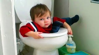 FUNNY FAILS of Babies You Can't Watch Without LAUGHING - Hilarious Babies Compilation