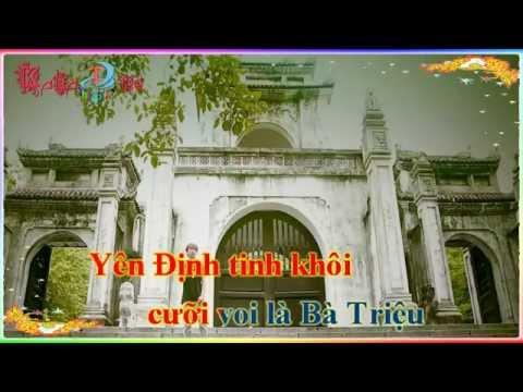"""Karaoke """" Quê tôi Thanh Hoá"""""""