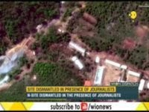 North Korea dismantles nuke sites with huge explosion: In presence of foreign journalists