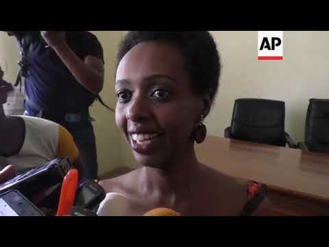 Rwanda opposition leader reacts as charges dropped