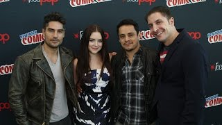 "D.J. Cotrona, Madison Davenport & Jesse Garcia Talk ""From Dusk Till Dawn"" with Arthur Kade"