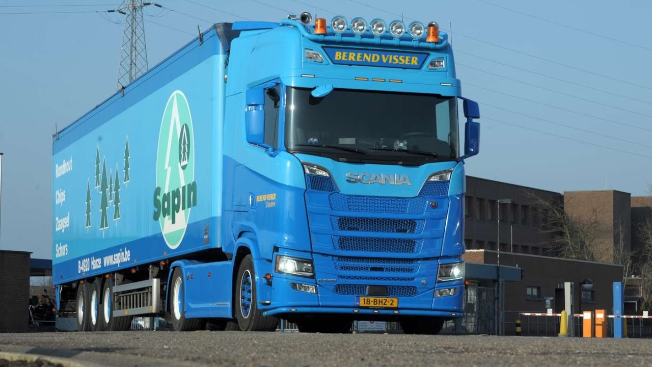 Hedendaags Scania S 580 Berend Visser - YouTube MC-12