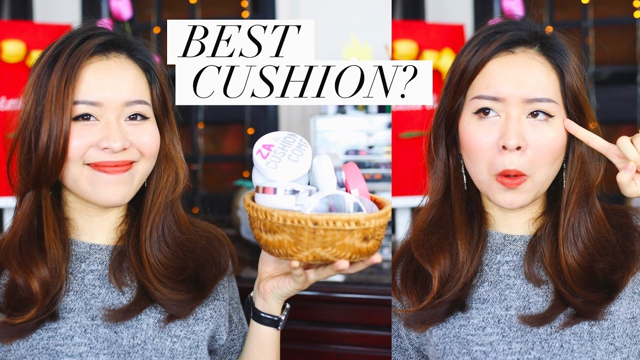 REVIEW nhanh gọn lẹ 10 cushion | CUSHION COLLECTION #1 | Letsplaymakeup
