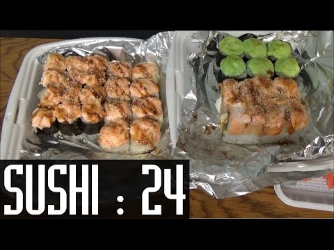 Обзор на ресторан доставки Sushi 24. Суши Уфа отзыв от Vilimas TV