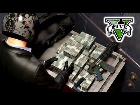 GTA 5 The BIG Job!! Live Stream - Robbery  Grand Theft Auto 5 - GTA 5 Big Bank