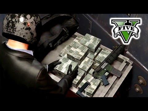 GTA 5 The BIG Job!! Live Stream - Robbery  Grand Theft Auto 5 - GTA 5 Big Bank