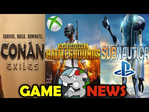 GAME NEWS PUBG PS4 Confirmed XB1 Early Access SUBNAU