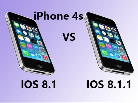 ios 8 on iphone 4s ios 8 1 vs ios 8 1 1 iphone 4s 8781