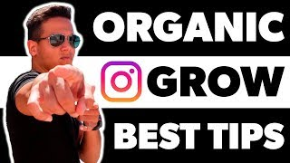 10 tips on HOW TO GROW FOLLOWERS ON INSTAGRAM organically