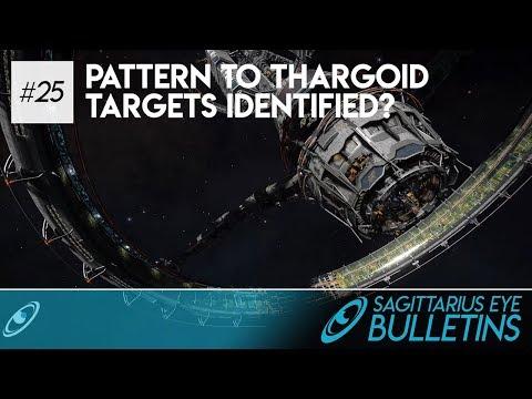 Sagittarius Eye Bulletin - Pattern to Thargoid Targets Identified?