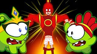 Om Nom Stories: THE BATTLE BEGINS SUPER NOMS | Funny Cartoons For Children by Kids Shows Club