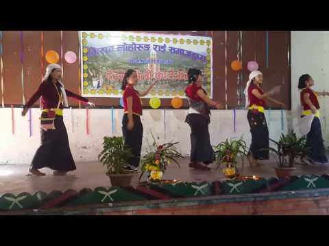 Kirati Lohorung Dance of Nepal - indian culture is nothing to this!