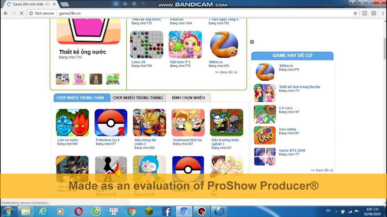 Các Trang Web Chơi Game Offline & Online Hay Nhất