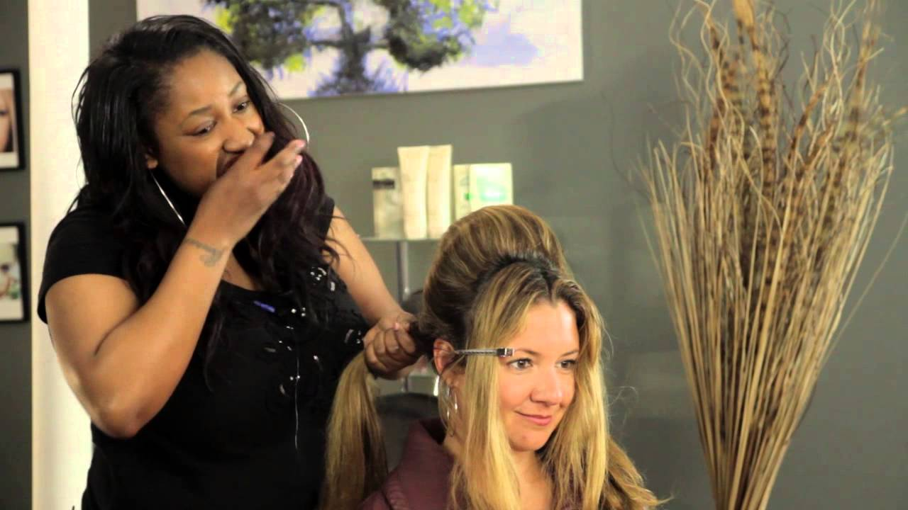 "How To Style Hair With Hairspray How To Make Your Hair Like Penny In ""hairspray""  Hair Braids ."