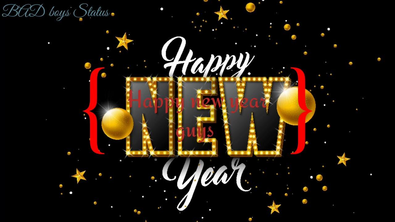 #Happy new year 2020   happy new year slow motion whatsapp ...