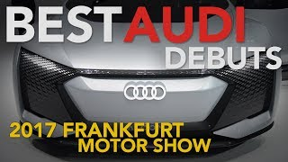 2018 Audi R8 V10 RWS, Aicon Concept, RS 4 Avant and g-tron Models: 2017 Frankfurt Motor Show