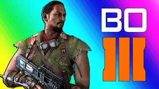 Black Ops 3 Zombies Funny Moments - Gorod Krovi Easter Egg Attempt!