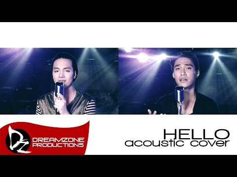 Adele - Hello (Acoustic Cover) - Sam Mangubat & Jun Sisa