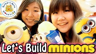 Let's Build Build-a-bear Minions With Jenny!! - Jenny's First  Bab Experience! - 슈퍼배드 미니언 인형만들기