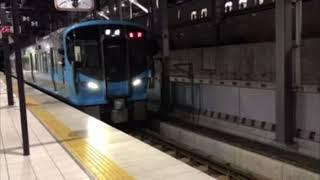 (列車発車)521系3次車富山発金沢行き