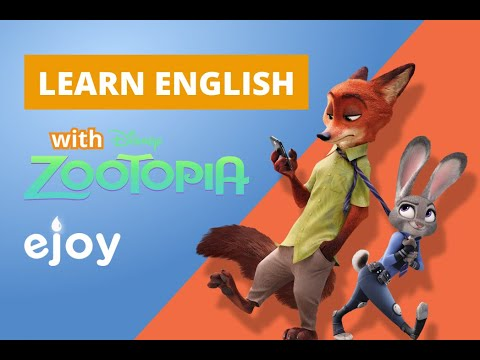 Learn English With The Movie Zootopia 2  |  EJOY English
