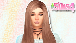 The Sims 4 | Create a Sim- Girl with Heterochromia (Garota com Heterocromia)
