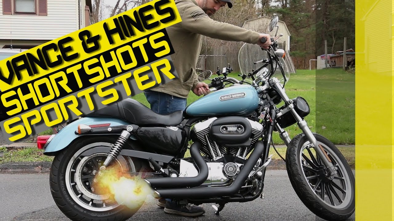 Download BEST INSTALL and SOUND VIDEO - VANCE & HINES Short Shots on a Harley Sportster