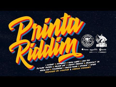 Rumble - Printa Riddim Ft. Various Artists [Official DJ Liondub Mix | DEC 2017]