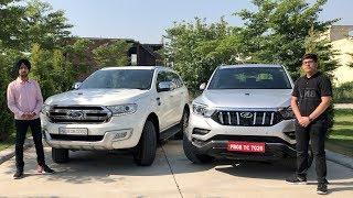 Mahindra Alturas G4 Vs Ford Endavour | Alturas G4 Vs Endavour Test Drive | Crazy4cars