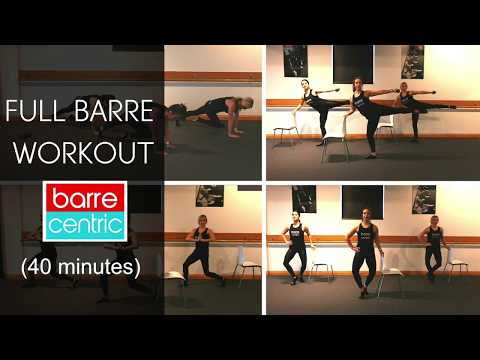 FULL BARRE WORKOUT 40 minutes