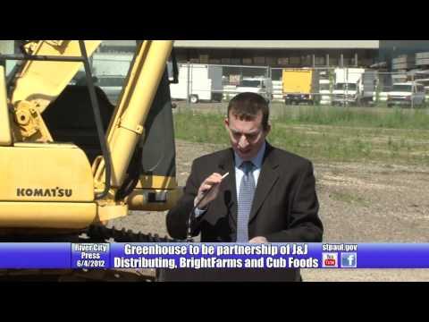 BrightFarms Builds Greenhouse with J&J Distributing