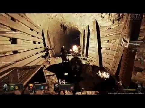 Warhammer End Times - Vermintide Beta Gameplay 1 |