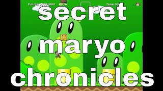 secret maryo chronicles - portable free game to download