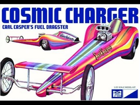 How to Build the Cosmic Charger Dragster 1:25 Scale MPC Model Kit #826 Review