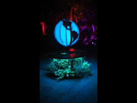 Night Lights at the Buffalo Botanical Gardens Volt Vision Globe