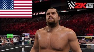 "WWE 2K15 ""Rusev loves the United States of America: We The People!"" GLITCH (PS4)"