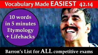 vocabulary made EASIEST 42.14 Learn Etymology by puneet biseria in hindi